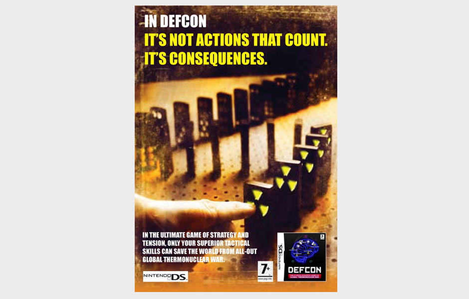 Advertisement for Defcon