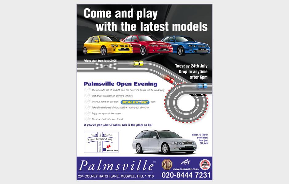Palmsville ad