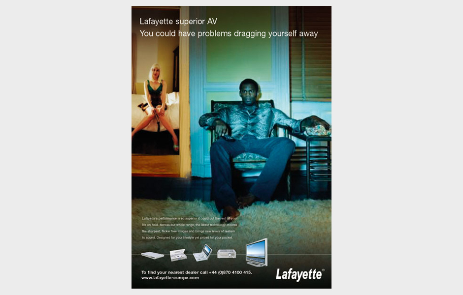 Advertisement for Lafayette