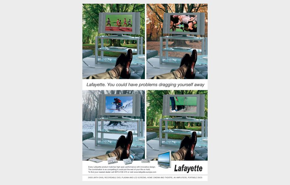 Advertisement for Lafayette 'Seasons'