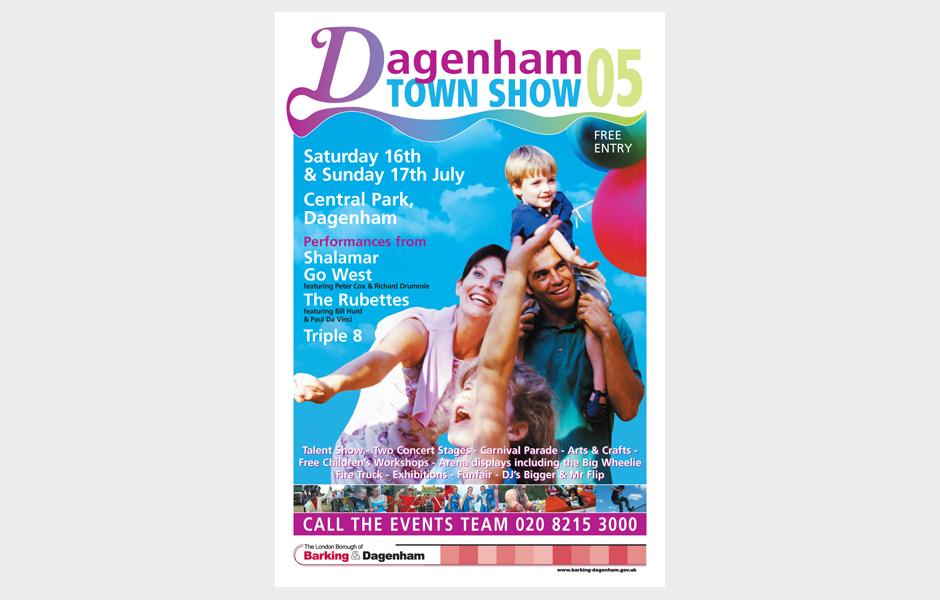 Poster for Dagenham Town Show