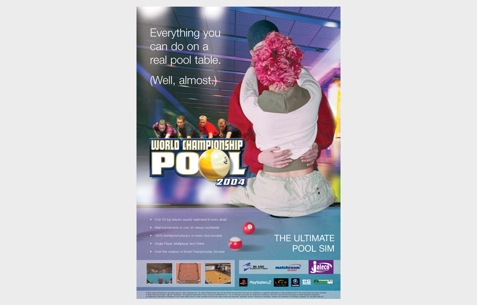 Advertisement for World Championship Pool