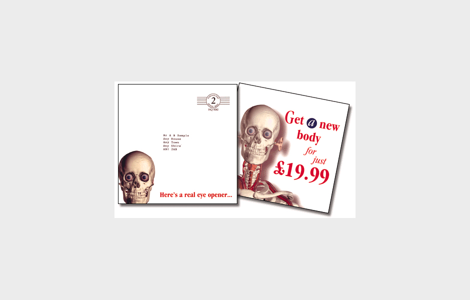 Dorling Kindersley mailshots