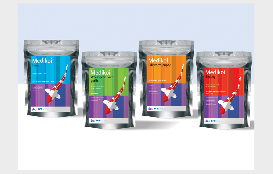 NT Labs – pack design